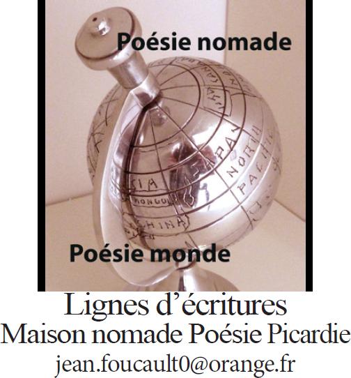 Lignes d'écritures - Maison nomade Poésie Picardie